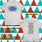 American Idol Live! USA Tour 2018 White Tee's Two Side by Complexart z1