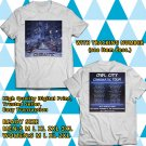 Owl City : Cinematic Tour 2018 White Tee's Two Side by Complexart z1