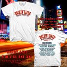 Rockin River Festival Aug 2018 White Tee's Two Side by Complexart z1
