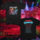 SOB x RBE Global Gangin Tour 2018 Black Tee's Two Side by Complexart z1