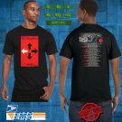 Three Days Grace The Outsider Tour 2018 Black Tee's Two Side by Complexart z1