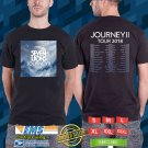 Seven Lions Journey II Tour 2018 Black Tee's Two Side by Complexart z2