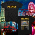 Primus Ambushing The Storm Tour 2018 Black Tee's Two Side by Complexart z1