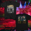 The Struts Body Talks North American Tour 2018 Black Tee's Two Side by Complexart z1