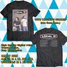 Local h Pack Up The Cats Tour 2018 Black Tee's Two Side by Complexart z1