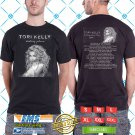 Tori Kelly Hiiding Place Tour 2018 Black Tee's Two Side by Complexart z1