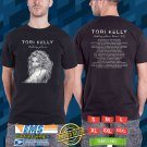 Tori Kelly Hiiding Place Tour 2018 Black Tee's Two Side by Complexart z2