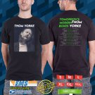 Thom Yorke Tomorrow Modern Boxes Tour 2018 Black Tee's Two Side by Complexart z2