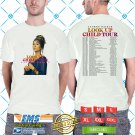 Lauren Daigle Look Up Child Tour 2018/2019 White Tee's Two Side by Complexart z1