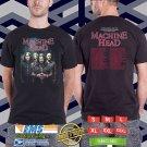 Machine Head Freaks&Zero Leg 2 Tour 2018 Black Tee's Two Side by Complexart z1
