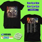 KISS End Of the Road Farewell Tour 2019 Black Tee's Two Side by Complexart z2