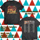 KISS End Of the Road Farewell Tour 2019 Black Tee's Two Side by Complexart z3