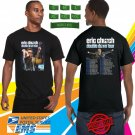 Eric Church Double Down Tour 2019 Black Tee's Two Side by Complexart z3