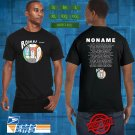 NONAME Room 25 Tour 2019 Black Tee's Two Side by Complexart z1