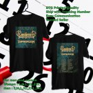 Ensiferum Path To Glory N.America Tour 2019 Black Tee's Two Side by Complexart z1