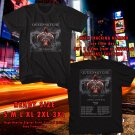 Queensryche The Verdict Tour 2019 Black Tee's Two Side by Complexart z1