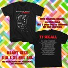 Get this Ty Segall North America Tour 2018 Black Tee Andalid2