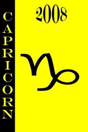 2008 daily Horoscope - Capricorn