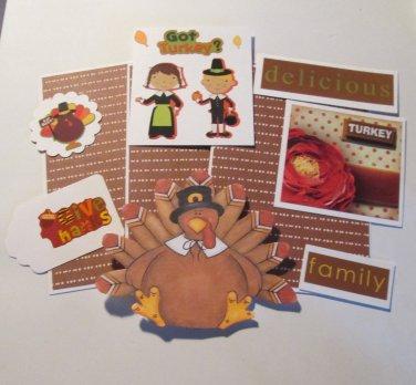 Got Turkey a - Mat Set