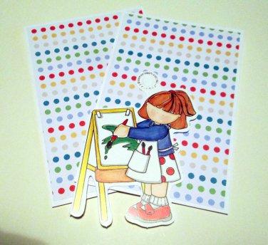Artist Girl b- MME - Mat Set