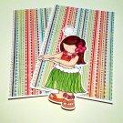 Hula Girl a - MME - Mat Set