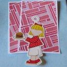 Picnic Girl Hamburger a3 - MME - Mat Set