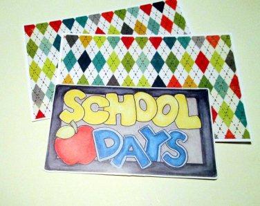School Days Title a - MME - Mat Set