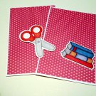 Scissors and Books a - MME - Mat Set