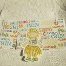Hula Girl e - MME - Mat Set