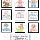 A Baby Is A Joy - 10 piece set