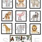 A Trip To The Zoo - 10 piece set