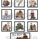 All Boy cs - 10 piece set