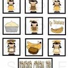 Banana Cream Pie - 10 piece set