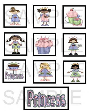 Cupcake Princess - 10 piece set