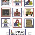 First Day Of School - 10 piece set