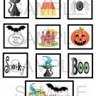 Halloween - 10 piece set