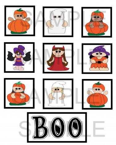 Halloween Kids - 10 piece set