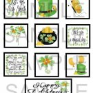 Happy St Patrick's Day - 10 piece set
