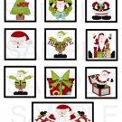 Ho Ho Ho Santa - 10 piece set