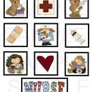 Nurse - 10 piece set