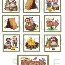 Raggety Ann Camping - 10 piece set