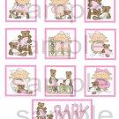 Romper Baby Girl - 10 piece set