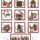 Santa Claus - 10 piece set