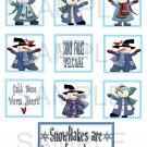 Snowflakes Are Kisses - 10 piece set