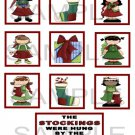 The Stockings Were Hung - 10 piece set