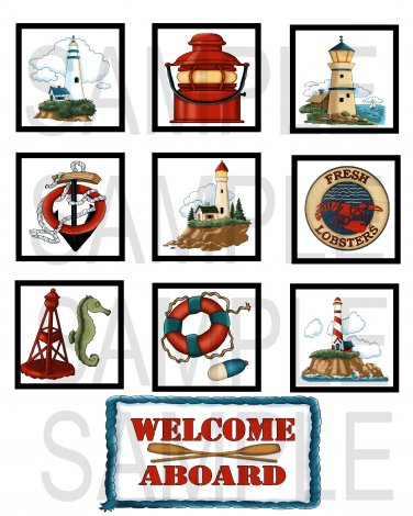 Welcome Aboard - 10 piece set