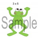 Feeling Froggy 4 - Printed Paper Piece