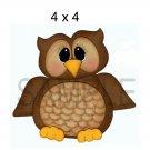 Owl tb -  Printed Paper Piece