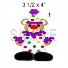 Clown 1 -  Printed Paper Piece