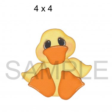 Easter Duck -  Printed Paper Piece
